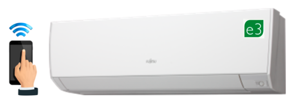 FUJITSU ASTG09KMCB 3.4KW WIFI  HEAT PUMP/ AIR CONDITIONER